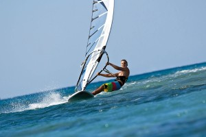Windsurf en la Playa de La Barrosa